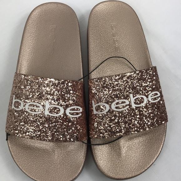 0139bf4913f88d bebe Women s Bling Slides Sandals pink